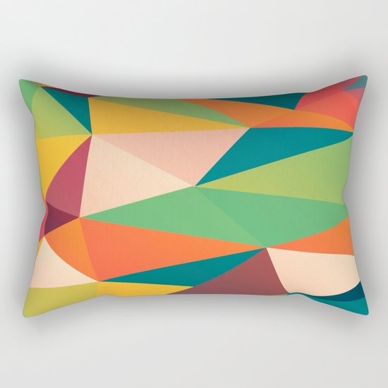 Geometric XIII Rectangular Pillow