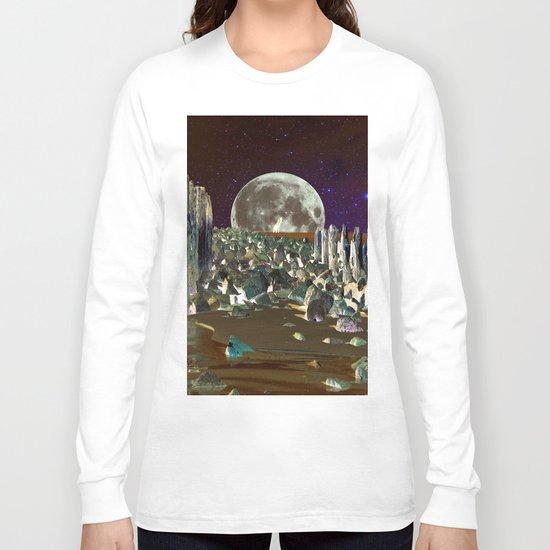 wolf moon nigth Long Sleeve T-shirt