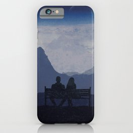 Watching the World Turn iPhone Case