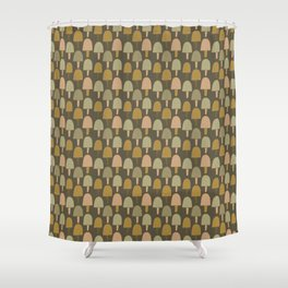 Pattern project #34 / Small Trees Shower Curtain