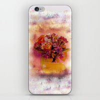 flora iPhone & iPod Skins featuring Flora  by Music of the Heart