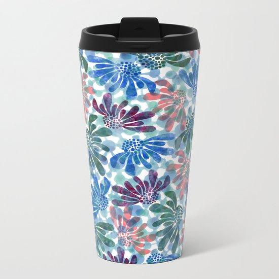 pattern 67 Metal Travel Mug