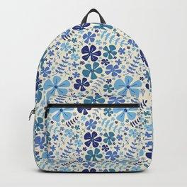My Little Garden blue & green Backpack