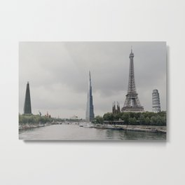 International Cityscape Metal Print
