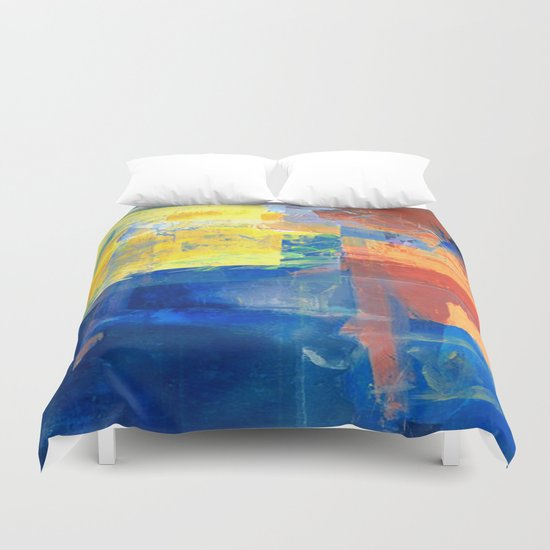 Beach Chair Duvet Cover