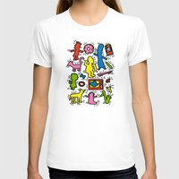 keith haring T-shirts featuring Haring - Simpsons by Krikoui