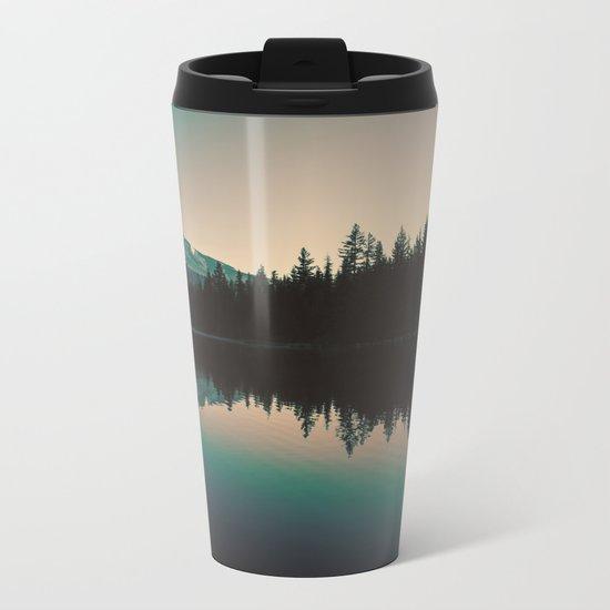 Morning Mountain Adventure Metal Travel Mug