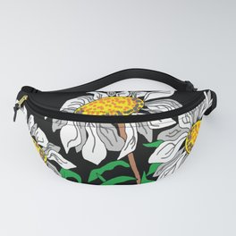 High Altitude Daisies Fanny Pack