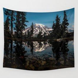Rainier Reflection 2018 Wall Tapestry