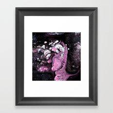 Lilac guggle Framed Art Print