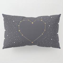 Heart Constellation Pillow Sham