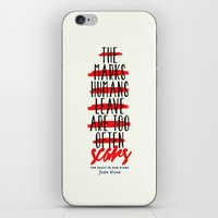 fault in our stars iPhone & iPod Skins featuring The Fault in Our Stars by thatfandomshop