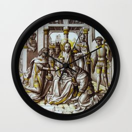 "Hans Memling ""Roundel with the Adoration of the Magi"" Wall Clock"