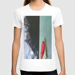 Lake Louise Red Canoes T-shirt