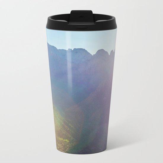 Arousal of Shadows (Zion National Park, Utah) Metal Travel Mug