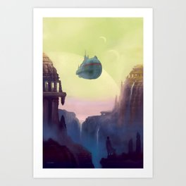 Old Worlds Art Print