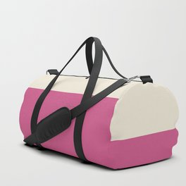 Minimal pattern two colors for living bedroom bath Duffle Bag