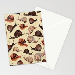 A Slew Of Snails Stationery Cards