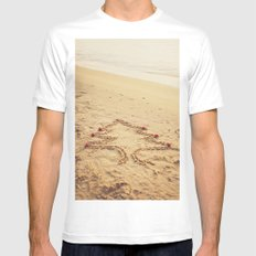 Merry Christmas! - Christmas at the beach White MEDIUM Mens Fitted Tee