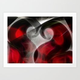Heart To Heart Art Print