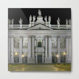 Archbasilica of Saint John Lateran, Rome, Italy Metal Print