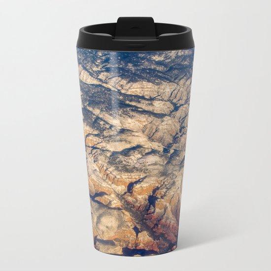 Mars or Earth Metal Travel Mug