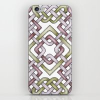 celtic iPhone & iPod Skins featuring Celtic Knotwork by Carrie at Dendryad Art