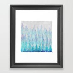 Mountain Hike Framed Art Print