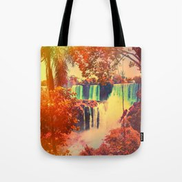 Tropical Fountains Tote Bag