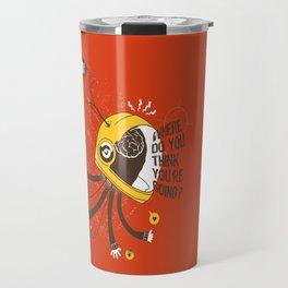 ordered world Travel Mug
