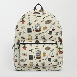 Harry Pattern Backpack