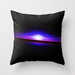 Sombrero Galaxy Deep Space Telescopic Photograph Throw Pillow