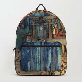 Yoshida Hiroshi - A Misty Day In Nikko - Digital Remastered Edition Backpack