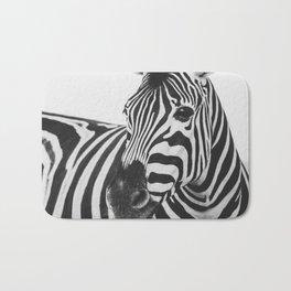 The Thoughtful Zebra Bath Mat