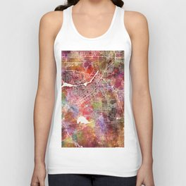 Riverside map Unisex Tank Top