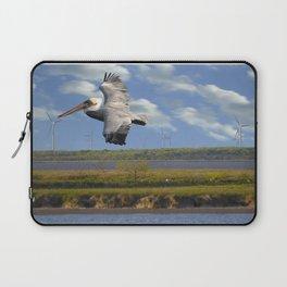 Pelican Wind Turbines Laptop Sleeve