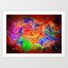 Psychosis Art Print