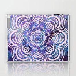 Galaxy Mandala Purple Lavender Blue Laptop & iPad Skin