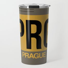 PRG Prague Luggage Tag 1 Travel Mug
