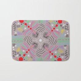 Magic paths pattern Bath Mat