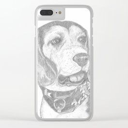 Portrait of Betsy Clear iPhone Case