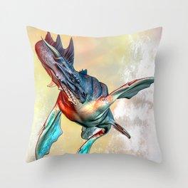 Nessie Throw Pillow