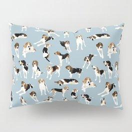 Tree Walker Coonhounds Pattern Pillow Sham