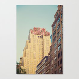 Vintage New Yorker Canvas Print