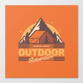 Outdoor Adventure Canvas Print
