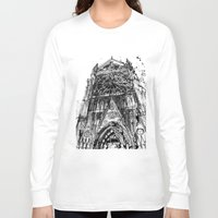 takmaj Long Sleeve T-shirts featuring Notre Dame by takmaj