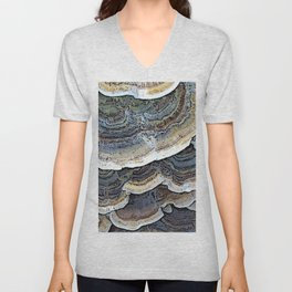 Turkey Tail Fungi Unisex V-Neck