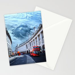 London Beneath Earth Stationery Cards