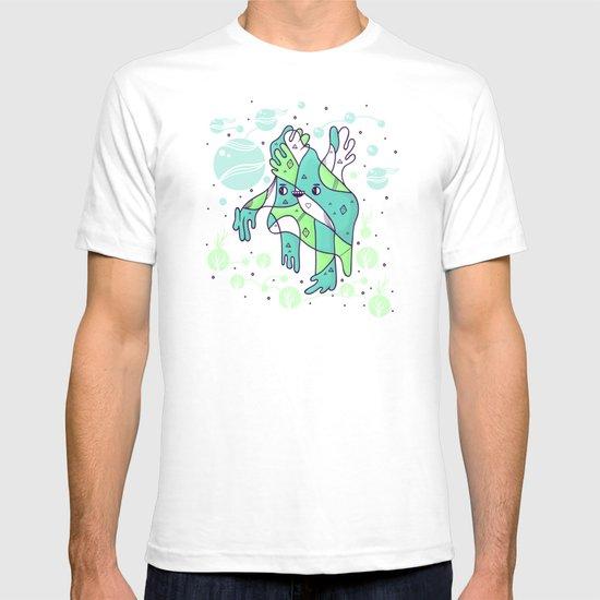Foot girl mcfootington T-shirt