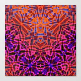 Ethnic Tribal Pattern G316 Canvas Print